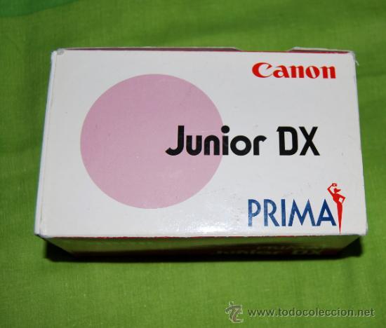 Cámara de fotos: CANON Prima Junior Dx con su funda, su caja y su documentacion original - año 1997 - Foto 2 - 36596486