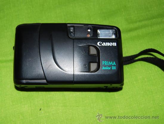 Cámara de fotos: CANON Prima Junior Dx con su funda, su caja y su documentacion original - año 1997 - Foto 7 - 36596486