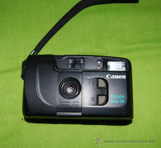 Cámara de fotos: CANON Prima Junior Dx con su funda, su caja y su documentacion original - año 1997 - Foto 3 - 36596486