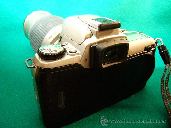 Cámara de fotos: NIKON F65 - OBJETIVO NIKON AF NIKKOR 70-300 MM. 1:4-5,6 - AUTOFOCUS -MOTOR Y FLASH - PERFECTA - 2001 - Foto 6 - 36890195