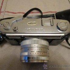 Cámara de fotos: CAMARA FOTOGRAFICA YASHICA LINX 14 E - IC - OBJETIVO YASHINON DX F 45 MM. CON FUNDA ORIGINAL. Lote 37694657