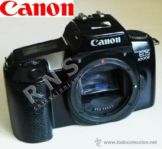 CANON EOS 1000F CÁMARA DE FOTOS - SÓLO CUERPO - RÉFLEX - FOTOGRAFÍA - 1000 F - MÁQUINA AÑOS 90 (Cámaras Fotográficas - Réflex (autofoco))