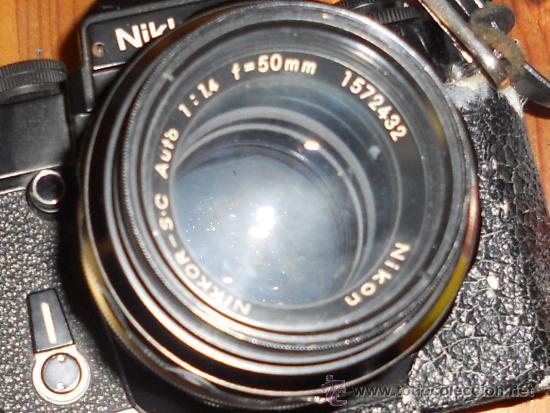 Cámara de fotos: ANTIGUA MAQUINA DE FOTOGRAFIAR REFLEX EL. NIKKORMAT PARA COLECIONISTAS (FUNCIONA ). - Foto 23 - 33762386