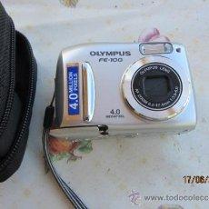 Cámara de fotos: CAMARA DE FOTOS FOTOGRAFICA OLYMPUS F-100 2,8 OPTICAL 200 M 4 M COMPLETA MAS FUNDA ORIGINAL RELIQUIA. Lote 37834949