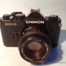 Cámara de fotos: CAMARA CHINON CM-4, OBJETIVO COSINA COSINON-S, 50MM; 1:2. Lote 37846351