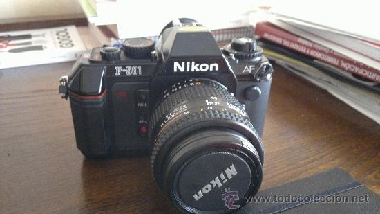 NIKON F-501 + OBJETIVO AF NIKKOR 35-70 MM (Cámaras Fotográficas - Réflex (autofoco))