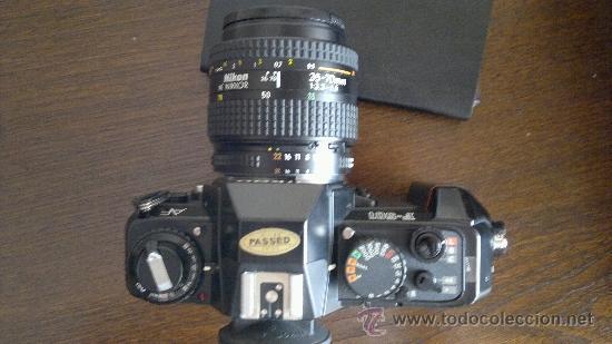 Cámara de fotos: NIKON F-501 + Objetivo AF NIKKOR 35-70 mm - Foto 3 - 38194098