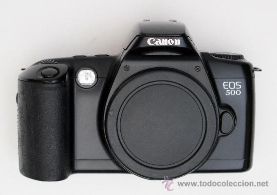 Cámara de fotos: CANON EOS 500 - Foto 2 - 42871762