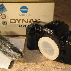 Cámara de fotos: CAMARA MINOLTA DYNAX 700 SI...NUEVA SOLO CUERPO. Lote 39424011