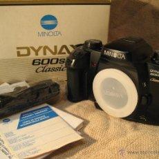Cámara de fotos: CAMARA MINOLTA DYNAX 600 SI CLASSIC...NUEVA SOLO CUERPO. Lote 39424223