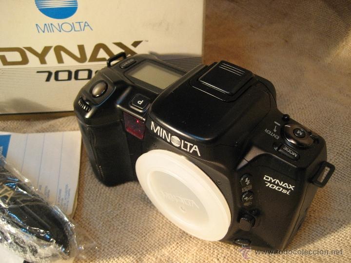 Cámara de fotos: CAMARA MINOLTA DYNAX 700 SI...NUEVA SOLO CUERPO - Foto 5 - 39424011