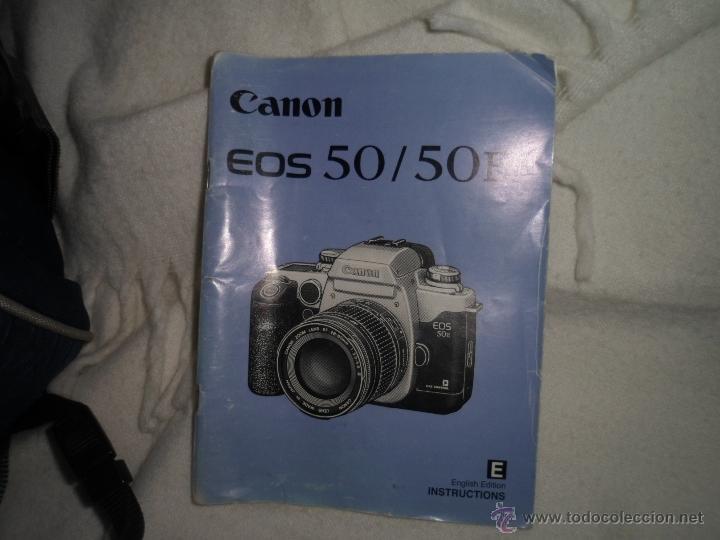 Cámara de fotos: CANON EOS 50 - ZOOM - Foto 4 - 40526709