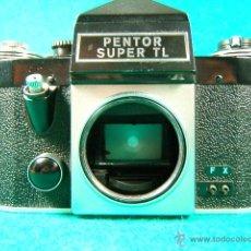 Cámara de fotos: PENTOR SUPER TL-REFLEX SIN OBJETIVO-MADE IN G.D.R.-6 ASA A 1600-B-1 SEG. A 500 SEG.-CAMARA FOTOS... . Lote 40849084