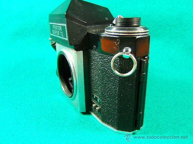 Cámara de fotos: PENTOR SUPER TL-REFLEX SIN OBJETIVO-MADE IN G.D.R.-6 ASA A 1600-B-1 SEG. A 500 SEG.-CAMARA FOTOS... - Foto 2 - 40849084