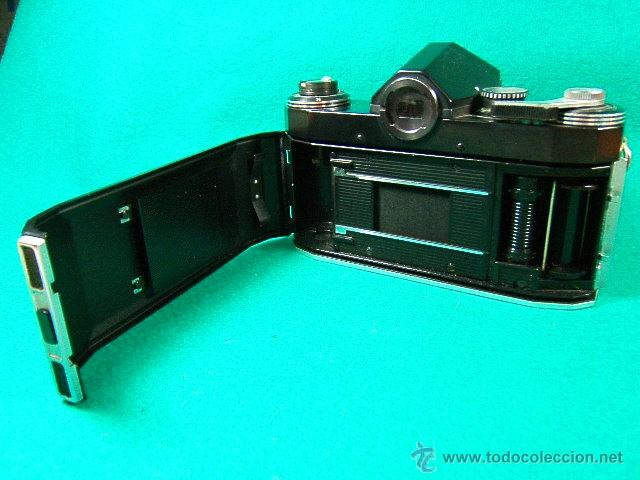 Cámara de fotos: PENTOR SUPER TL-REFLEX SIN OBJETIVO-MADE IN G.D.R.-6 ASA A 1600-B-1 SEG. A 500 SEG.-CAMARA FOTOS... - Foto 6 - 40849084