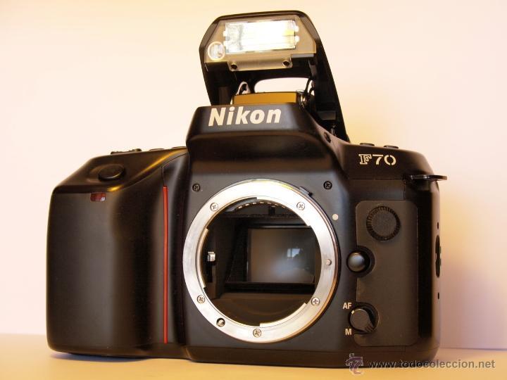 NIKON F70 - (CUERPO) REFLEX AUTOFOCUS - EN EXCELENTE ESTADO Y FUNCIONANDO (Cámaras Fotográficas - Réflex (autofoco))