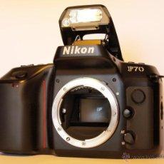 Cámara de fotos: NIKON F70 - (CUERPO) REFLEX AUTOFOCUS - EN EXCELENTE ESTADO Y FUNCIONANDO. Lote 26733973
