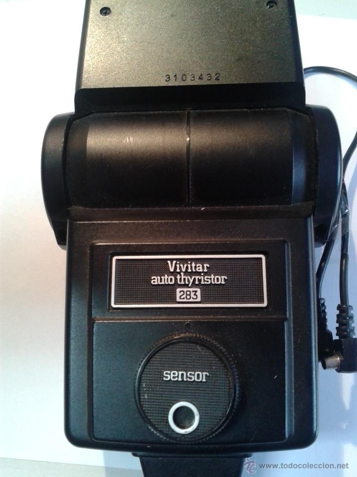 Cámara de fotos: MAGNIFICA LUZ PARA CAMARA DIGITAL PROFESIONAL CON DIFUSOR MARCA-USE VIVITAR SB - 4 POWER SUPPLY ON - Foto 7 - 40933618