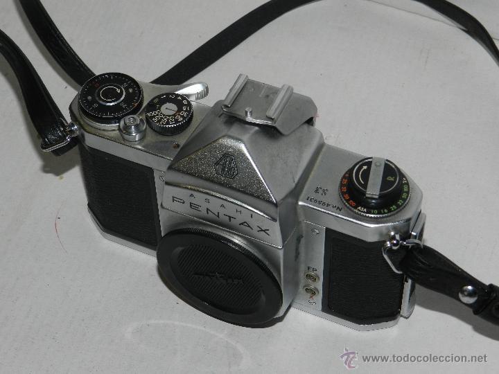 Cámara de fotos: (M) CAMARA ASAHI PENTAX S3 NO.495931, ASAHI OPT.CO. JAPAN , TAL COMO EN LA FOTOGRAFIA - Foto 3 - 41046201