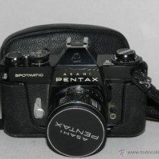 Cámara de fotos: (M) CAMARA ASAHI PENTAX SPOTMATIC CON MALETIN Y MUCHOS COMPLETOS, VER FOTOGRAFIAS ADICIONALES. Lote 41046438