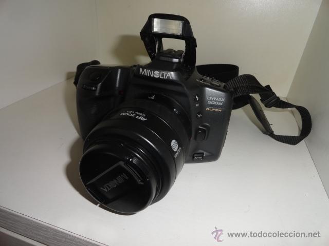 Cámara de fotos: camara reflex MINOLTA DYNAX 500SI SUPER OBJETIVO 35/70 BUEN ESTADO CON CARRETES e instrucciones - Foto 3 - 41602217