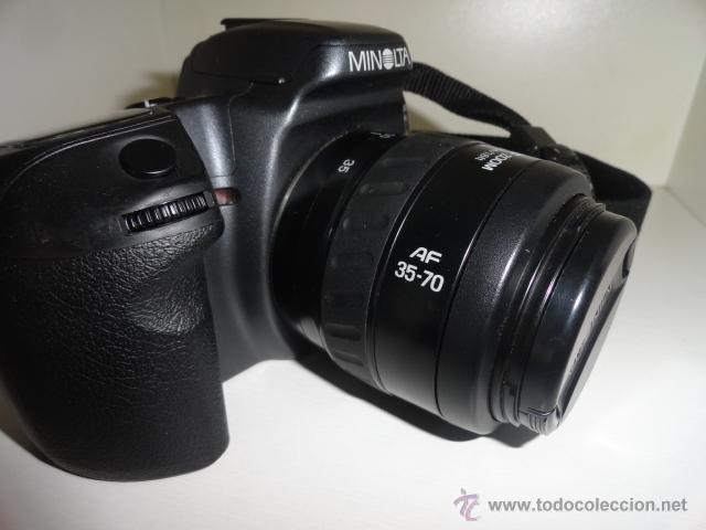 Cámara de fotos: camara reflex MINOLTA DYNAX 500SI SUPER OBJETIVO 35/70 BUEN ESTADO CON CARRETES e instrucciones - Foto 6 - 41602217
