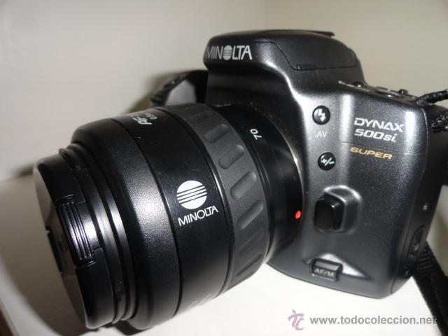 Cámara de fotos: camara reflex MINOLTA DYNAX 500SI SUPER OBJETIVO 35/70 BUEN ESTADO CON CARRETES e instrucciones - Foto 7 - 41602217