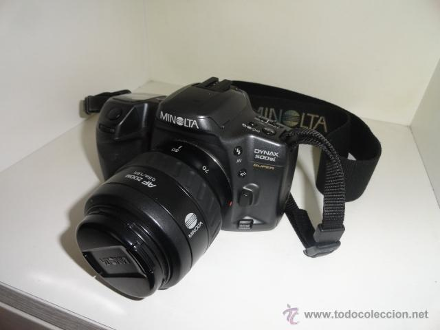 Cámara de fotos: camara reflex MINOLTA DYNAX 500SI SUPER OBJETIVO 35/70 BUEN ESTADO CON CARRETES e instrucciones - Foto 8 - 41602217