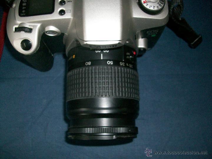 Cámara de fotos: CAMARA CANON EOS 500 N - OBJETIVO 0.38m/1.3ff 28-80mm - Foto 2 - 42752715