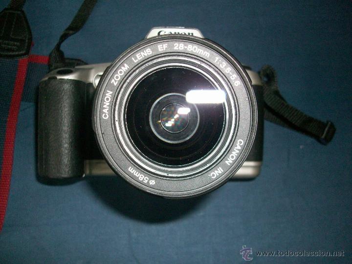 Cámara de fotos: CAMARA CANON EOS 500 N - OBJETIVO 0.38m/1.3ff 28-80mm - Foto 3 - 42752715