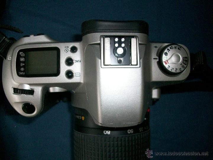 Cámara de fotos: CAMARA CANON EOS 500 N - OBJETIVO 0.38m/1.3ff 28-80mm - Foto 4 - 42752715