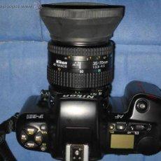 Cámara de fotos: MAGNIFICA CAMARA FOTOS NIKON F.601 AF, MUY BIEN CONSERVADA. Lote 42663729