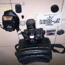 Cámara de fotos: NIKON F-501 AF. Lote 31084800