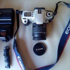 Cámara de fotos: CANON EOS-300 CON ACCESORIOS.. Lote 45609632