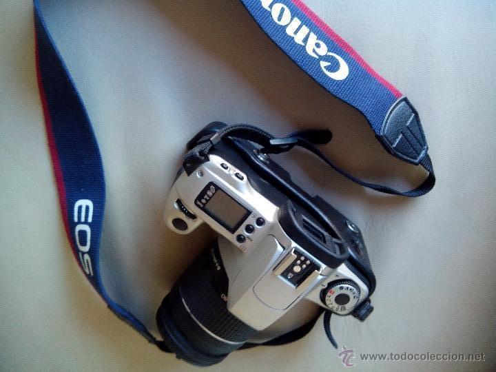 Cámara de fotos: Canon EOS-300 con accesorios. - Foto 2 - 45609632