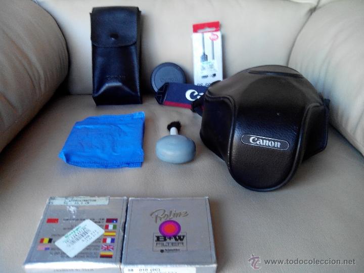 Cámara de fotos: Canon EOS-300 con accesorios. - Foto 8 - 45609632