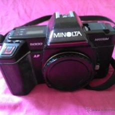 Cámara de fotos: MINOLTA 5000 MAXXUM. Lote 47878572