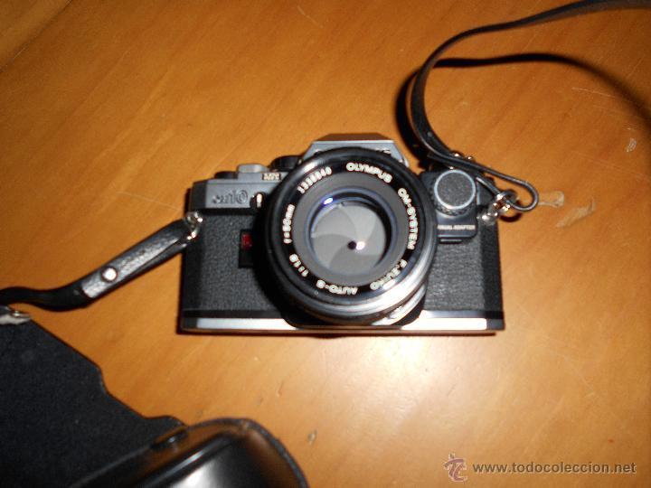 Cámara de fotos: OLYMPUS OM-10 Camera + SUIKO AUTO S 50mm Lens 1.8 Camara REFLEX 35mm OM10 Lente MAS OTRO PARA LARGO - Foto 6 - 48723167