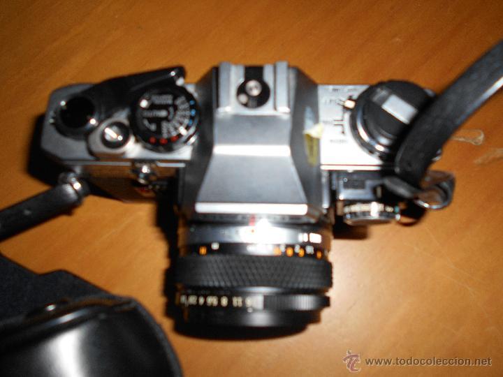 Cámara de fotos: OLYMPUS OM-10 Camera + SUIKO AUTO S 50mm Lens 1.8 Camara REFLEX 35mm OM10 Lente MAS OTRO PARA LARGO - Foto 7 - 48723167