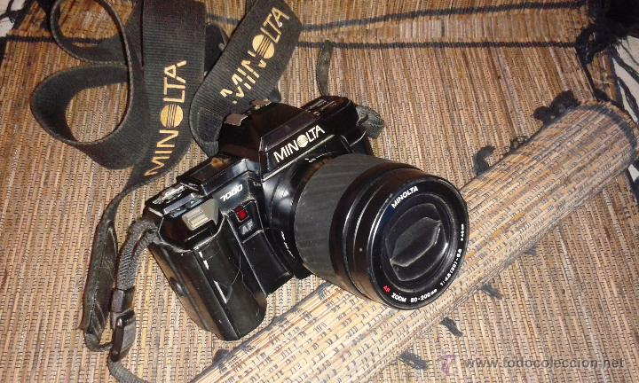 Cámara de fotos: CAMARA MINOLTA 7000 AF CON OBJETIVO 80/200 TAMBIEN MINOLTA - Foto 6 - 31250391