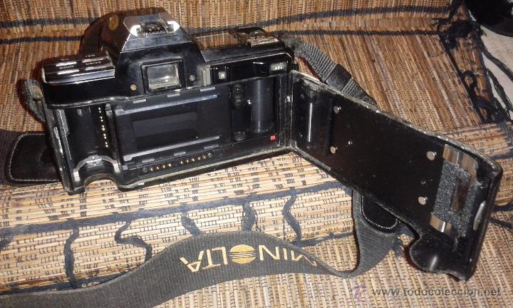 Cámara de fotos: CAMARA MINOLTA 7000 AF CON OBJETIVO 80/200 TAMBIEN MINOLTA - Foto 8 - 31250391
