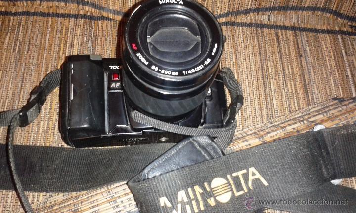 Cámara de fotos: CAMARA MINOLTA 7000 AF CON OBJETIVO 80/200 TAMBIEN MINOLTA - Foto 9 - 31250391