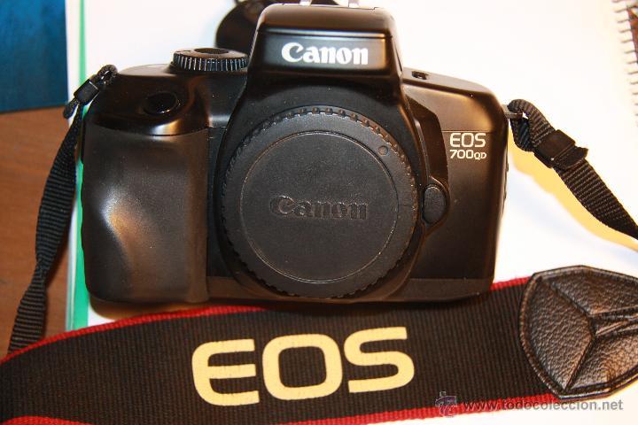 CUERPO CAMARA REFLEX CANON EOS 700 QD (Cámaras Fotográficas - Réflex (autofoco))