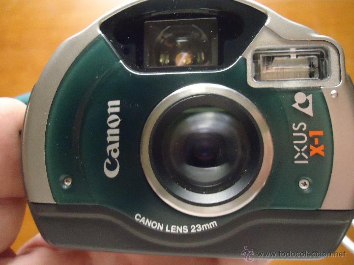 Cámara de fotos: EXEPCIONAL CAMARA CANON IXUS X-1 FLAS INCORPORADO FOTOGRAFICA ACUATICA FUNDA NEOPRENO - Foto 2 - 49633362
