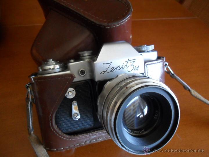 CÁMARA DE FOTOS ZENIT - 3M - MADE IN URSS - AÑOS 60 (Cámaras Fotográficas - Réflex (autofoco))