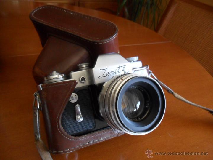 Cámara de fotos: CÁMARA DE FOTOS ZENIT - 3M - MADE IN URSS - AÑOS 60 - Foto 2 - 196839162