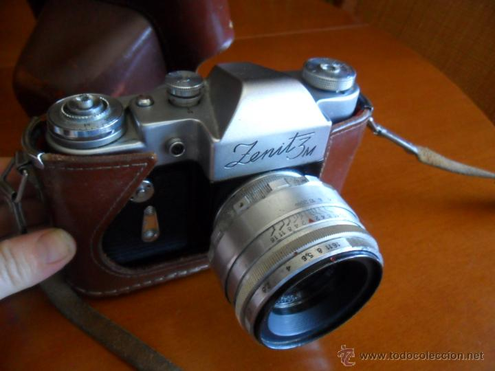 Cámara de fotos: CÁMARA DE FOTOS ZENIT - 3M - MADE IN URSS - AÑOS 60 - Foto 3 - 196839162