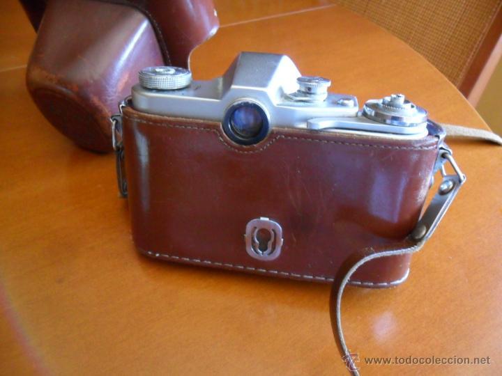 Cámara de fotos: CÁMARA DE FOTOS ZENIT - 3M - MADE IN URSS - AÑOS 60 - Foto 4 - 196839162