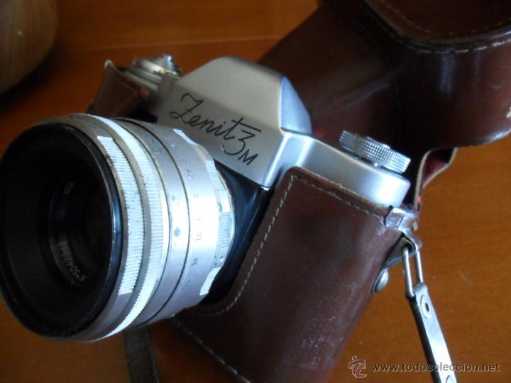 Cámara de fotos: CÁMARA DE FOTOS ZENIT - 3M - MADE IN URSS - AÑOS 60 - Foto 5 - 196839162