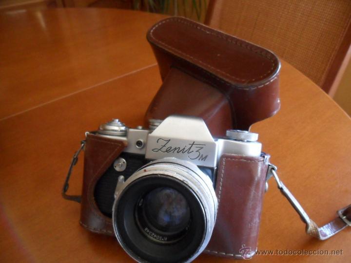 Cámara de fotos: CÁMARA DE FOTOS ZENIT - 3M - MADE IN URSS - AÑOS 60 - Foto 6 - 196839162